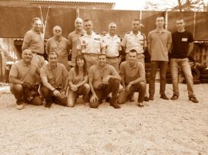 Les membres de l'UNOR - AORA présent à la journée de commémoration du centenaire 1914-18 organisé par la STASA.