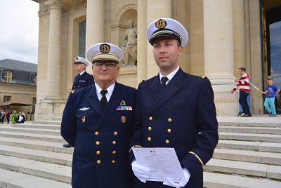 Parvi Hôtel des Invalides- remise du diplôme à Aspirant Cyril Reyfort le 18-06-2016